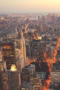New York City Feelings - the lights of manhattan