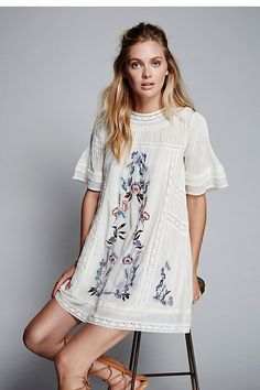 Perfectly Victorian Mini by Free People  teen teenage fashion style vacation beach college summer + spring womens outfits casual romper first day school fall + winter     Disclosure: Please note the link is an affiliate link which means-at zero cost to you-I might earn a commission if you buy something through my links.