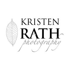 """Kristen Rath Photography"" logo by DahlHouse Design."