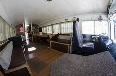 images of school buss campers   1998 Amtran Genesis School Bus Conversion/rv - Used for sale in ...