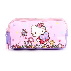 Hello Kitty Pen Pouch Butterfly ($15) ❤ liked on Polyvore featuring home, home decor and office accessories