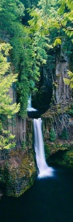 Angel's Pool at Toketee Falls on the North Umpqua River east of Roseburg, Oregon • Peter Lik Fine Art Photography