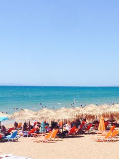 Kourouta beach Places Ive Been, Beaches, Greece, Dolores Park, Beautiful Places, Travel, Greece Country, Viajes, Sands