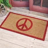 [Picked from SUNDANCE] Peace Doormat: What better symbol for the season than the iconic peace sign, emblazoned in red on durable natural coir fibers from coconut palms, thickly tufted on a tough PVC backing. x or x >>> Buy It Now ! Hippie Peace, Happy Hippie, Hippie Love, Hippie Art, Hippie Style, Hippie Chick, Peace Love Happiness, Peace And Love, Perfect Peace