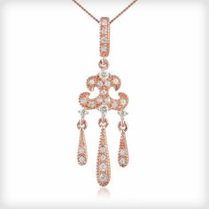 043b625e5 We are delighted to present this stunning Chandelier style pendant from  brand of the moment, V Jewellery. As worn by Jodie Kidd, these gorgeous  pendant is