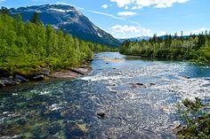 Gjerdalselva på vei ned mot Kobbvatnet     http://www.tursiden.no/gjerdalselva-pa-vei-ned-mot-kobbvatnet/