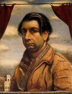 Self Portrait, 1925  Giorgio de Chirico.  Art Experience NYC  www.artexperiencenyc.com/social_login/?utm_source=pinterest_medium=pins_content=pinterest_pins_campaign=pinterest_initial