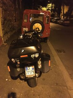 ADVriders bike from Italy and Lobagola Tours Land Rover Defender closing the day.  Take a look on our useful services: http://www.lobagola.com/tours-and-services  #lobagolabnb #zagreb #center #croatia #advrider #rider #motorcycle #bike #cycling #travel #travelerschoice2015 #adventurer #traveler #overland #globaltraveler #overlanding #ktm #bmw #ktmadv #bmwgs #natgeo #visitcroatia #visitzagreb #yellowelephantpath