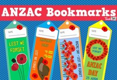 ANZAC Day - Bookmarks