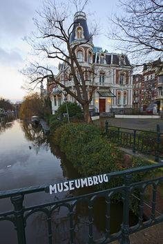 Amsterdam - Museumbrug, the Netherlands