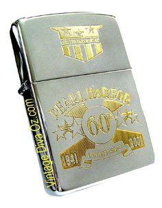 Pearl Harbor Zippo Lighter