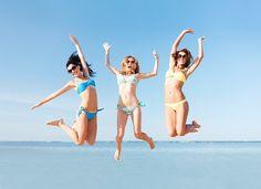 Bikini novo para aproveitar bem o verão e a praia