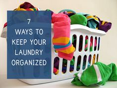 7 ways to keep your laundry organized #princetonproperties #apartmentliving
