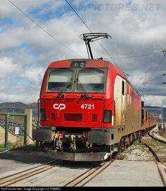 RailPictures.Net Photo: CP 4721 Caminhos de Ferro Portugueses Siemens CP 4700 series at Fundão, Portugal by J.C.POMBO