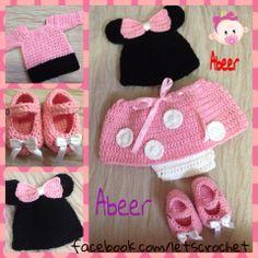 abeer's crochet minnie mouse crochet