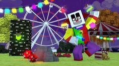 Minecraft: PARQUE DE DIVERSÕES! | Esconde-Esconde Mini-Game - YouTube