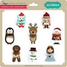 Christmas Candy Hugger Bundle - Lori Whitlock's SVG Shop