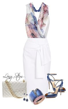 Floral top and White skirt Chic Outfits, Fashion Outfits, Womens Fashion, Work Fashion, Fashion Looks, Business Outfits, Work Wardrobe, Work Attire, Corsage