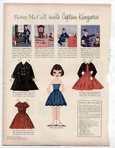 Vintage-Betsy-McCall-Meets-Captain-Kangaroo-Paper-Dolls-1957-Sweet-Sue-Revlon