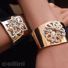 Sunday Street Style  #WonderWoman #18KaratGold #GoldCuffs NYC ready with @cellinijewelers.com