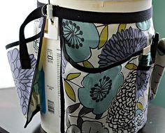 Garden Bucket Tool Belt | AllFreeSewing.com