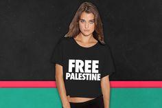 Free Palestine palestine boxy tee
