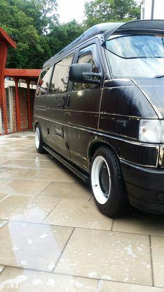 T4 Transporter, T5, Volkswagen, Camper, Vans, Dreams, Vehicles, Poster, Black
