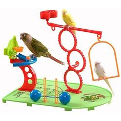 Bathroom Hardware Strict New Parrot Birds Climbing Net Jungle Rope Animals Toy Swing Ladder Chew Refreshing And Beneficial To The Eyes