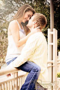 ElegantlyWed Engagement Photo  #engagement #outdoors