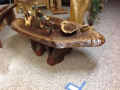 Sculptural Resin Table Is Made From YearOldWood Resins - This amazing resin table is made using 50000 year old wood