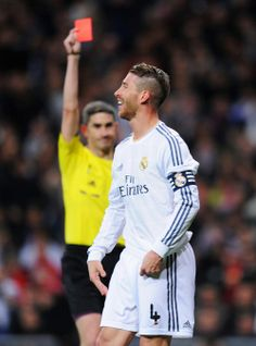 Business as usual - Sergio Ramos sees red
