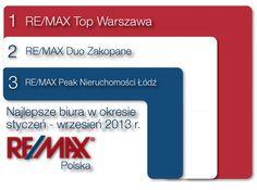 Biura RE/MAX Polska 01-09.2013