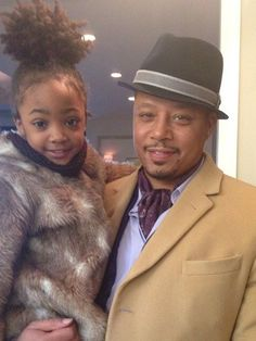 Leah Jeffries and Terrence Howard