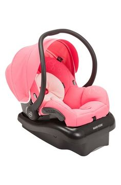 [+] Maxi-Cosi - Mico Max 30 Infant Car Seat w Baby on Board Sign - Pink Berry by Maxi-Cosi Baby Doll Car Seat, Baby Girl Car Seats, Baby Eyes, Thing 1, Travel System, Reborn Babies, Reborn Dolls, Baby Accessories, Baby Gear
