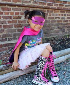 Girl superhero!