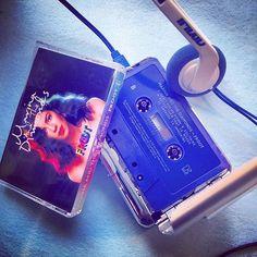 #blue #color #froot @marinagrams #cmj #cassette #cassettes #cassettejunkie #cassetteplayer #cassettecouture #analog #retro #brooklyn #nyc #music #girlband #classic #marinaandthediamonds @pitchfork #cassettestoreday @urbanoutfitters #fashionista #fashionable #fit @cassettesclub