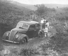 Stamina test: American-made cars struggled to cope with the rainforest environment. Inside the decaying ruins of Henry Ford's failed utopia 'Fordlandia': Car maker wanted to recreate American factories in the middle of the rainforest.