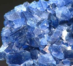 Benitoite mineral information and data