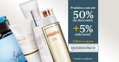 Quer ganhar mais 5% adicional nos produtos promocionados?Compre online acima de R$69.Ao finalizar seu pedido,utilize o cupom QUEROCINCO e aproveite!