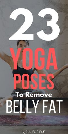 Find the best 23 yoga poses to lose weight quickly. Learn the benefits and get the best tips to perform these poses anywhere. Advanced Yoga, Beginner Yoga, Yoga Routine For Beginners, Yoga For Weight Loss, Best Weight Loss Plan, Weight Loss For Women, How To Lose Weight Fast, Yoga For Kids, Kid Yoga