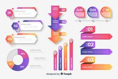 Corporate business infographic template, composition of infographic elements Free Vector Circle Infographic, Infographic Powerpoint, Infographic Templates, Corporate Business, Business Design, Presentation Design, Business Presentation, Powerpoint Slide Designs, Web Design