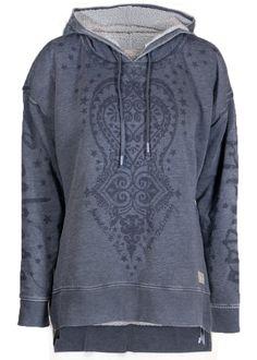 Odd Molly Sweater gråblå 117M-159 Daybreak Sweater - dark blue – Acorns