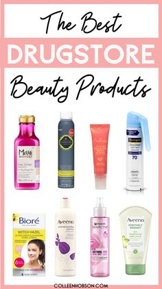 Wondering what to pick up in the drugstore beauty aisle? Check out our list of the best drugstore beauty products we simply cannot live without. #best #drugstore #beauty #products #DailyBeautyTips Best Hair Care Products, Beauty Products, Body Products, Maybelline, Pore Strips, Drugstore Skincare, Skincare Routine, Skin Care Remedies, Belleza Natural
