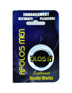 Apolos Men 15 – Crema retardante para el hombre de ayuda rápida para extender el rendiemiento sexual. Contenido 15gr.