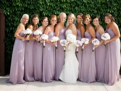 blush lilac bridesmaid dress - Exactly the color I would love to have :) so pretty Lilac Wedding, Wedding Colors, Dream Wedding, Lavender Weddings, Beach Weddings, Spring Wedding, Wedding Flowers, Bridesmaids And Groomsmen, Wedding Bridesmaids