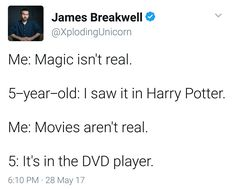 I would be that 5-year old