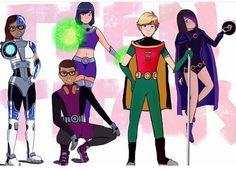 Miraculous Teen titans