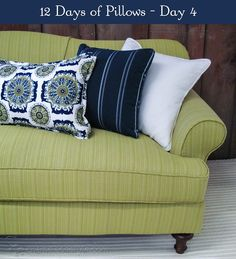 12 Days of Pillows 2013 - Day 4 - Chameleon Style