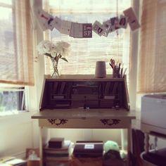 Amazing desk space <3