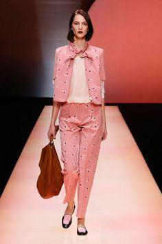 emporioarmani-ss2016, pantone, cartella colori, Labo54 oltrelamoda, fashion color report 2016, fashion blog, trends, shopping, Peach Eco
